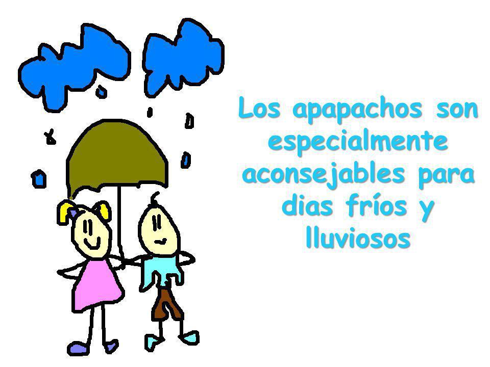 Los apapachos son especialmente aconsejables para dias fríos y lluviosos