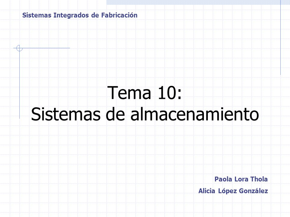 Tema 10: Sistemas de almacenamiento