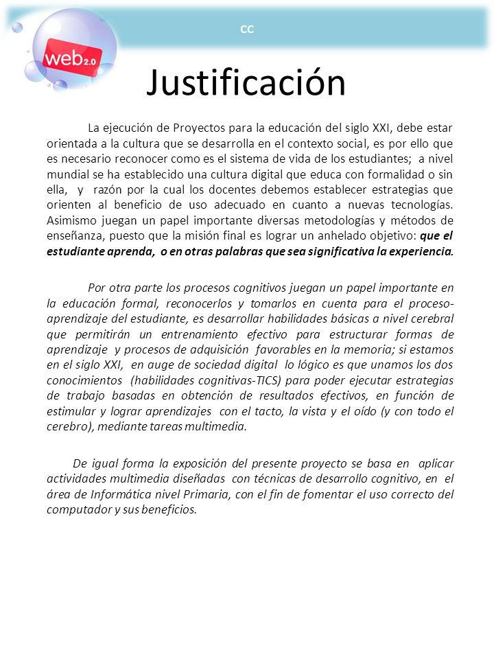 cc Justificación.
