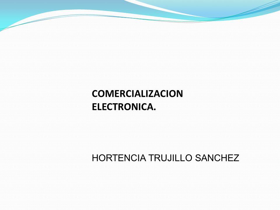 COMERCIALIZACION ELECTRONICA.