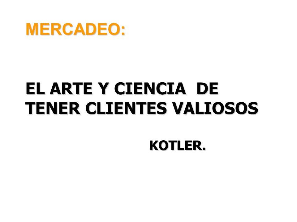 EL ARTE Y CIENCIA DE TENER CLIENTES VALIOSOS