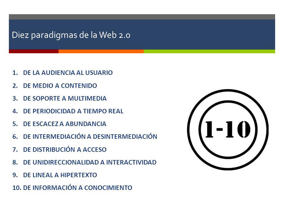 Diez paradigmas de la Web 2.0