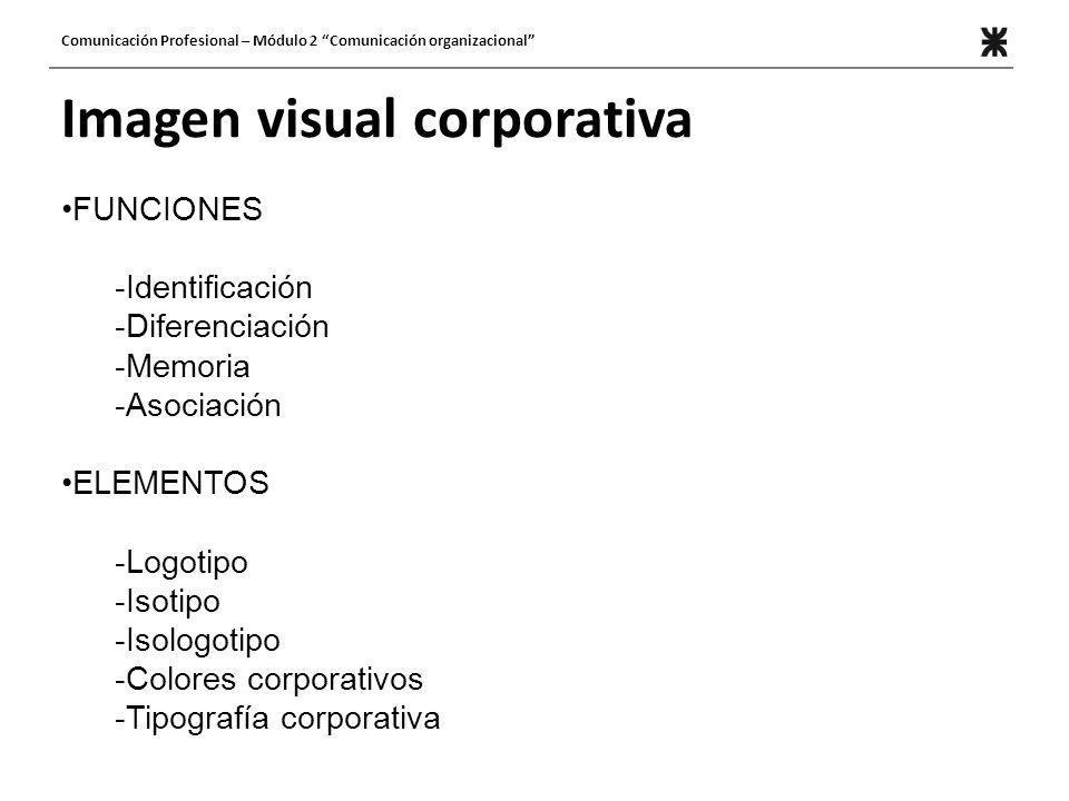Imagen visual corporativa