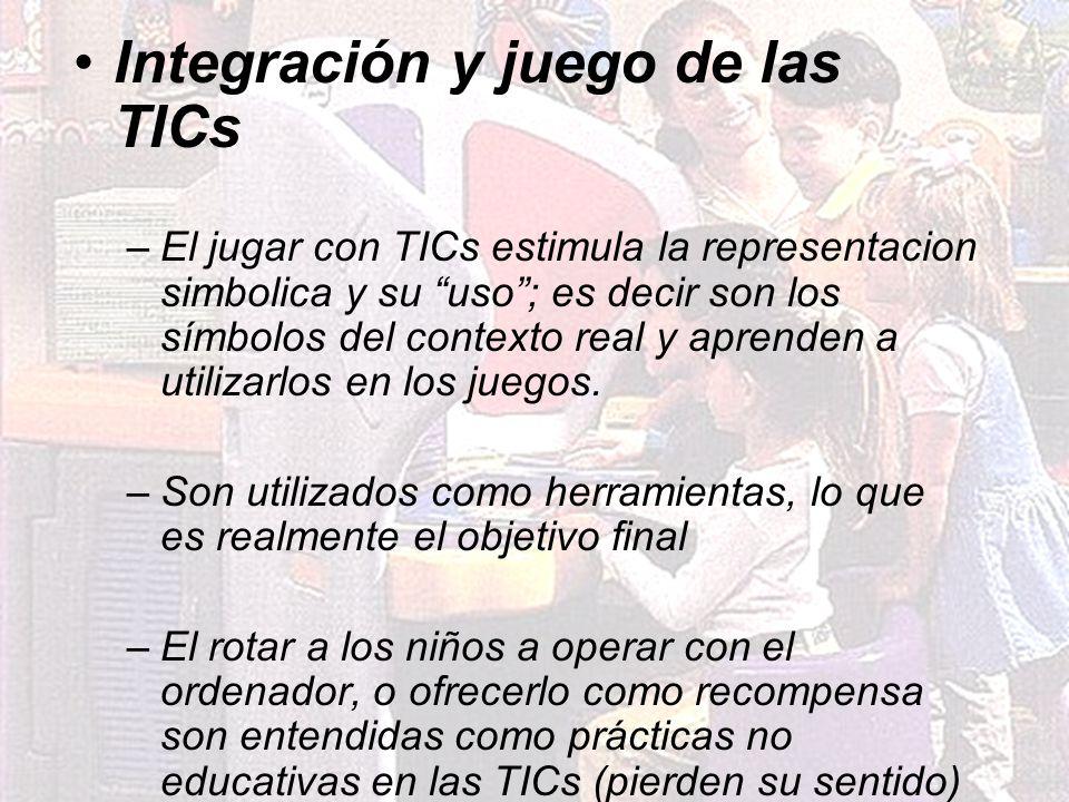 Integración y juego de las TICs