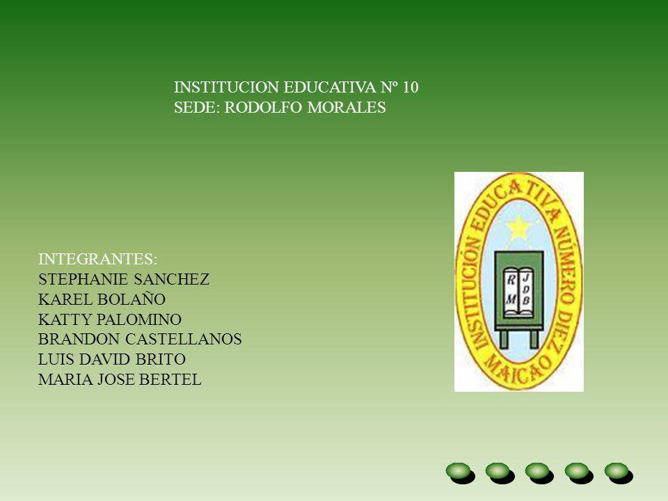 INSTITUCION EDUCATIVA Nº 10