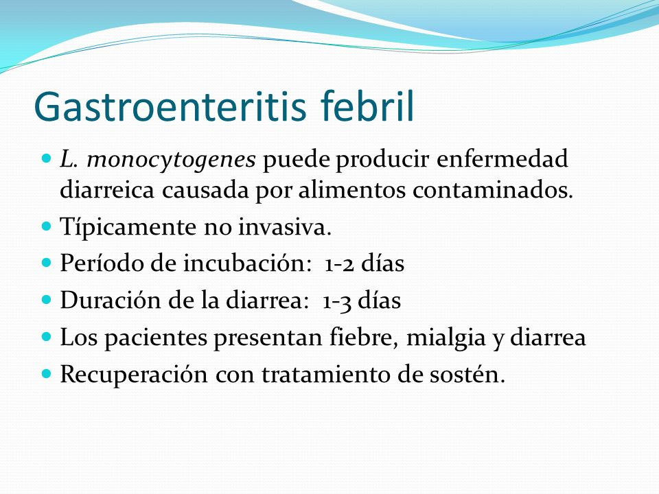 Gastroenteritis febril