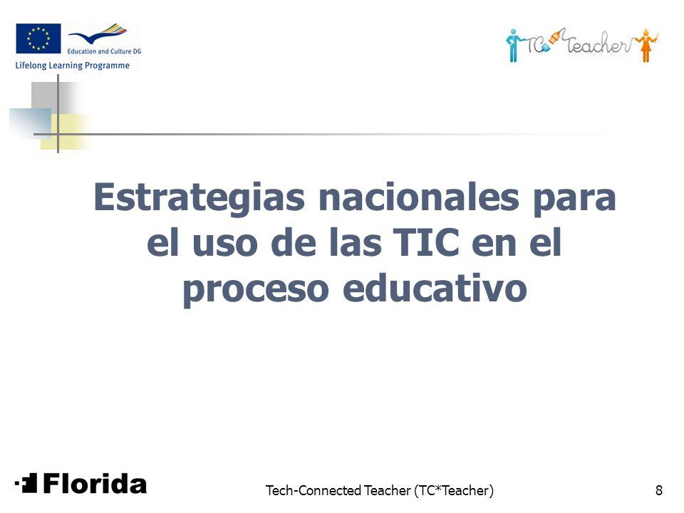 Estrategias nacionales para el uso de las TIC en el proceso educativo
