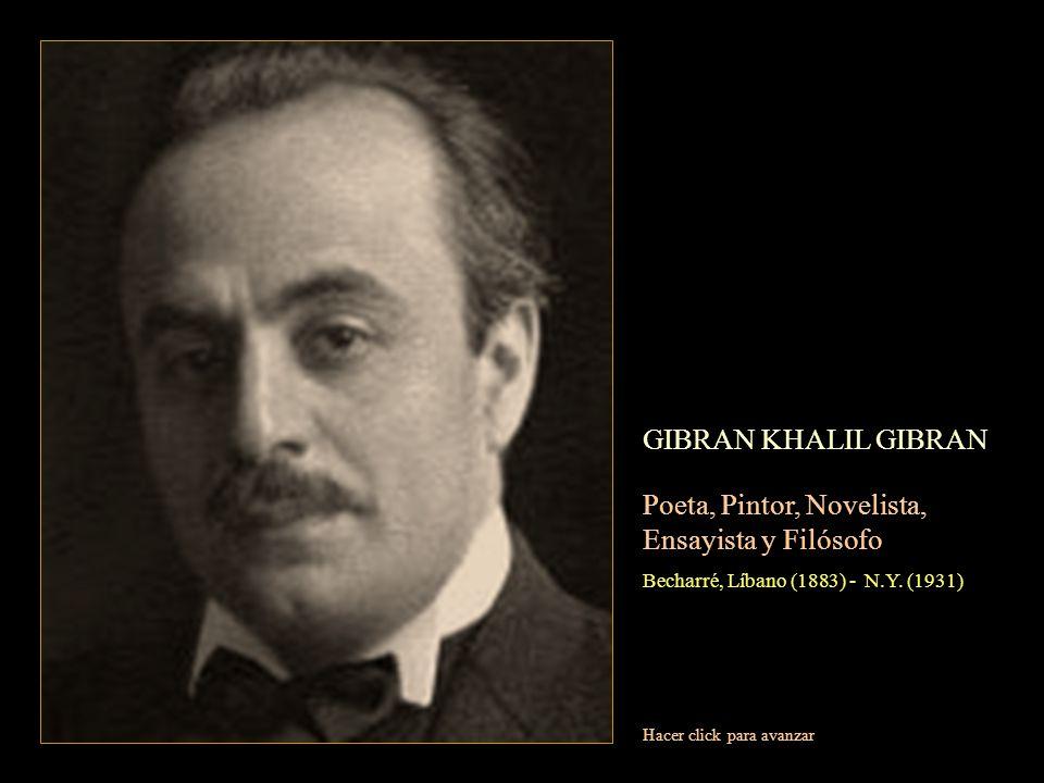 Poeta, Pintor, Novelista, Ensayista y Filósofo