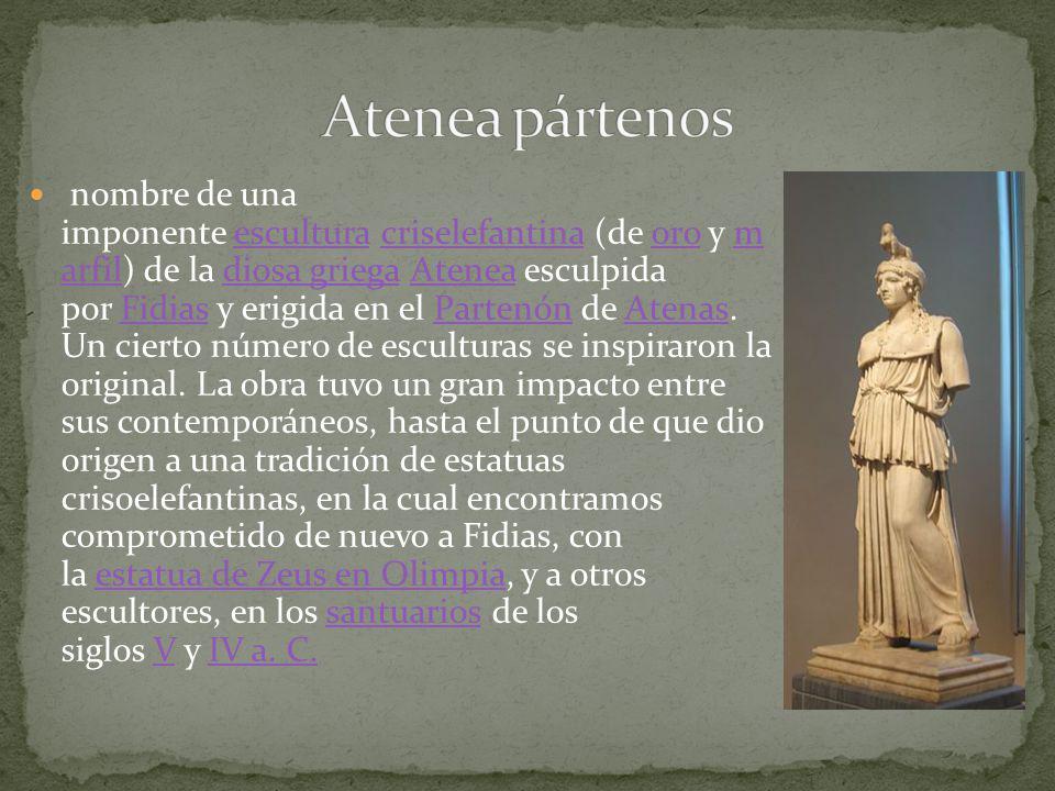 Atenea pártenos