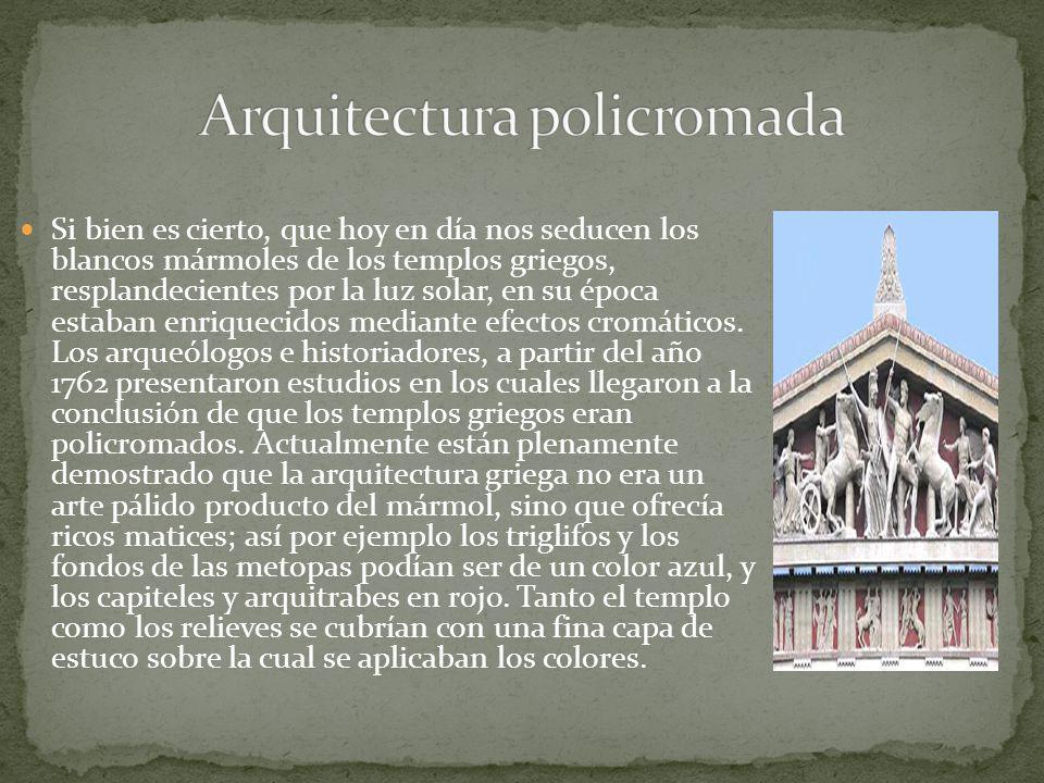 Arquitectura policromada