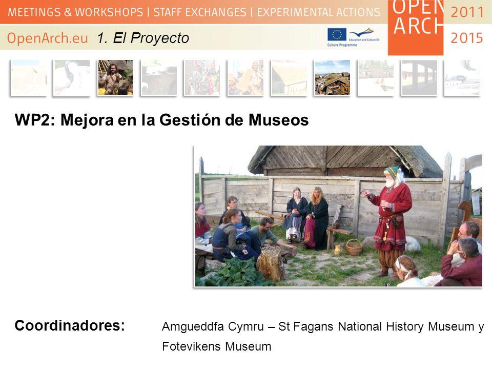 WP2: Mejora en la Gestión de Museos