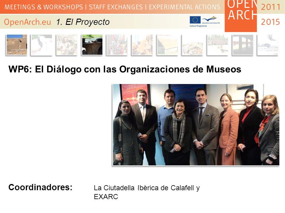 WP6: El Diálogo con las Organizaciones de Museos