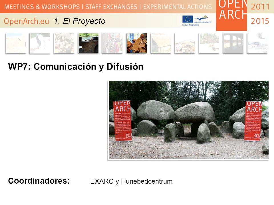 WP7: Comunicación y Difusión