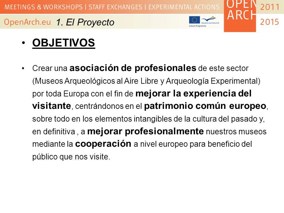 1. El ProyectoOBJETIVOS.