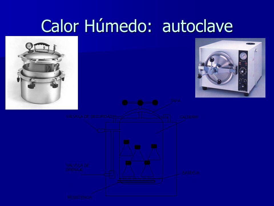 Calor Húmedo: autoclave