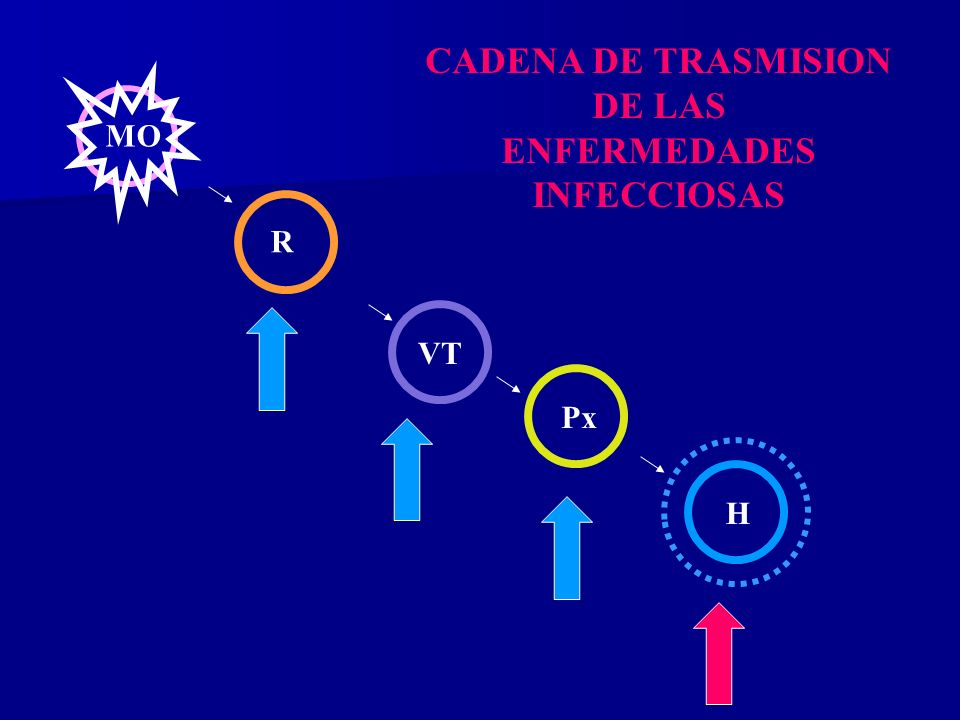 CADENA DE TRASMISION DE LAS ENFERMEDADES INFECCIOSAS