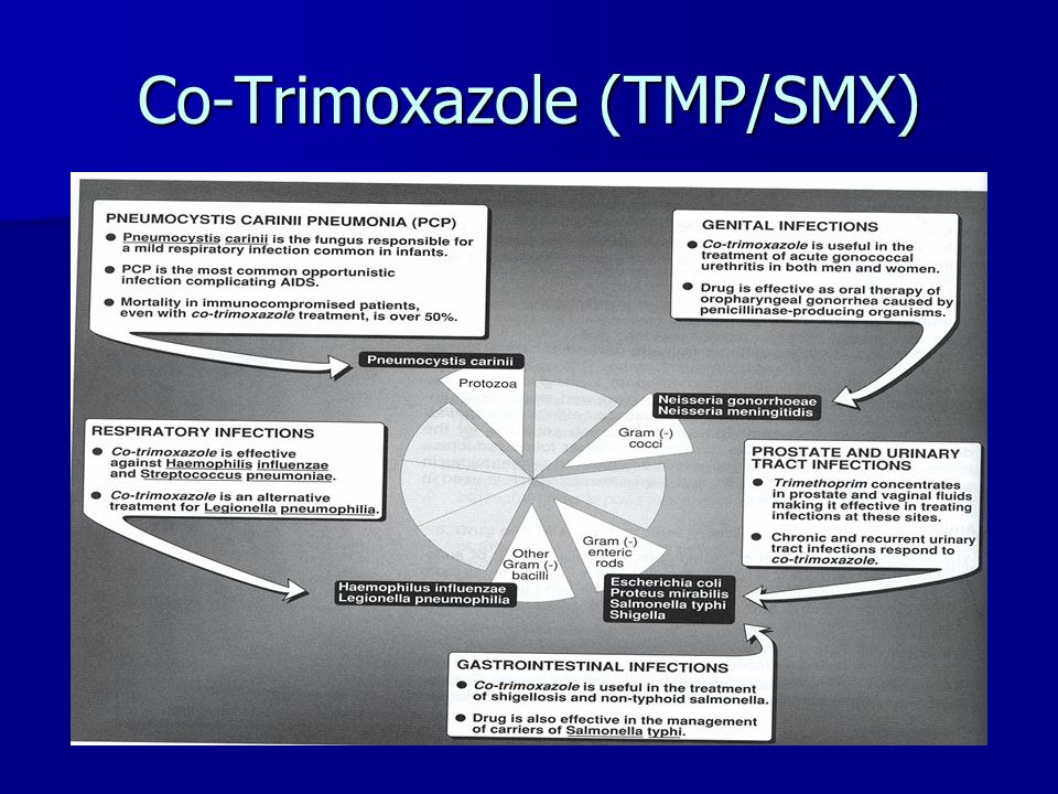 Co-Trimoxazole (TMP/SMX)