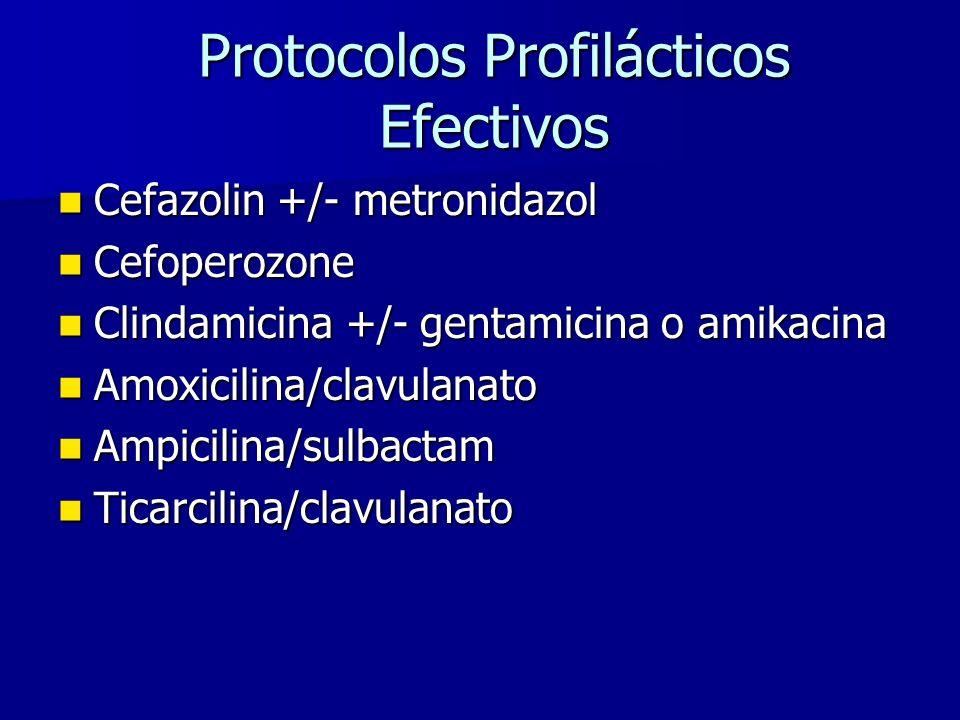 Protocolos Profilácticos Efectivos