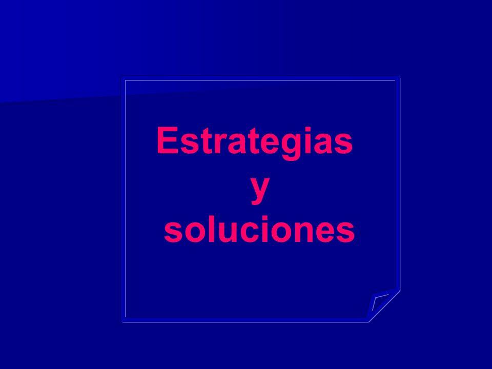 Estrategias y soluciones