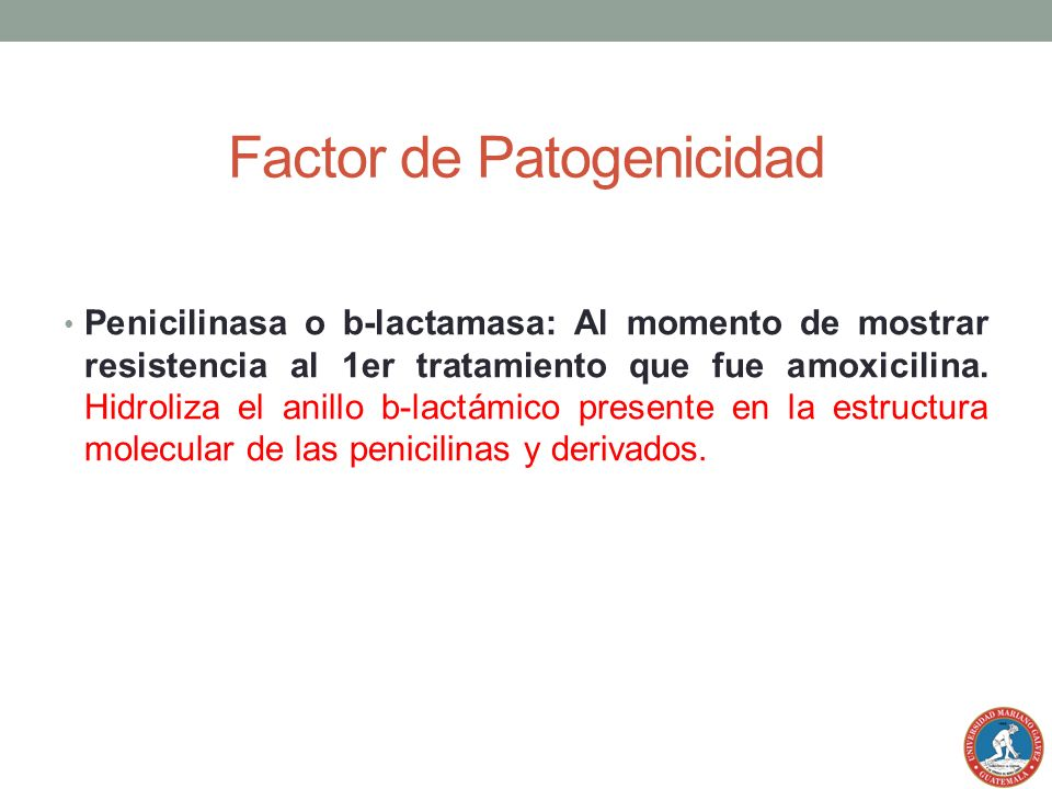 Factor de Patogenicidad