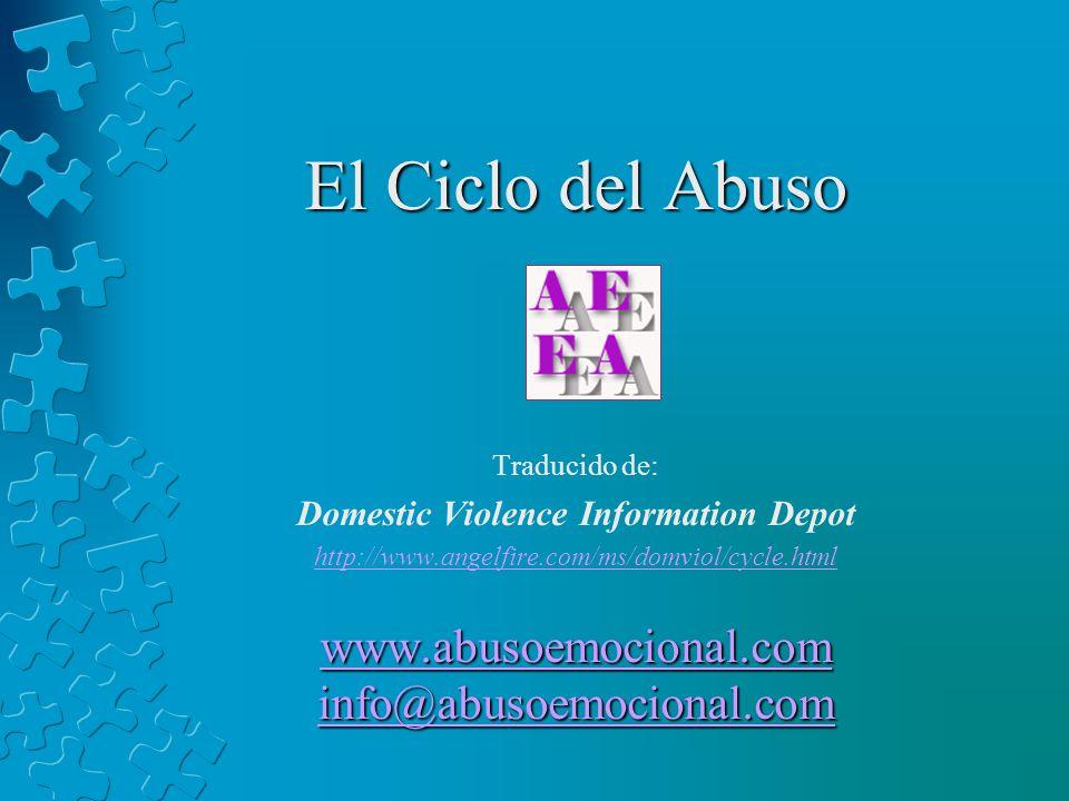 www.abusoemocional.com info@abusoemocional.com
