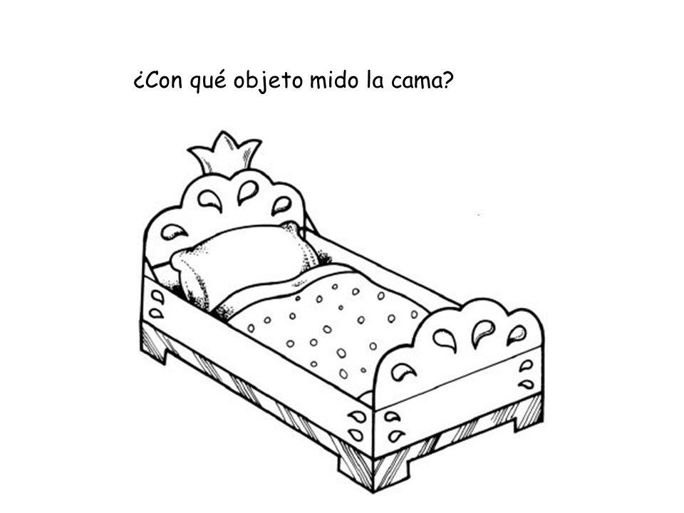 ¿Con qué objeto mido la cama