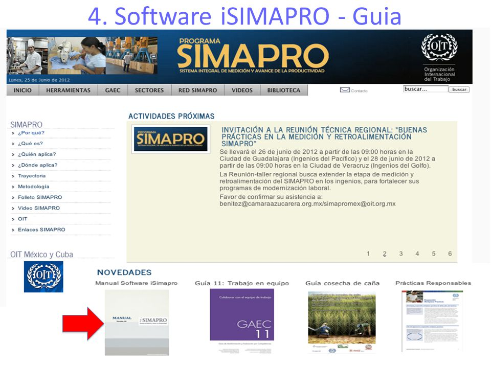 4. Software iSIMAPRO - Guia