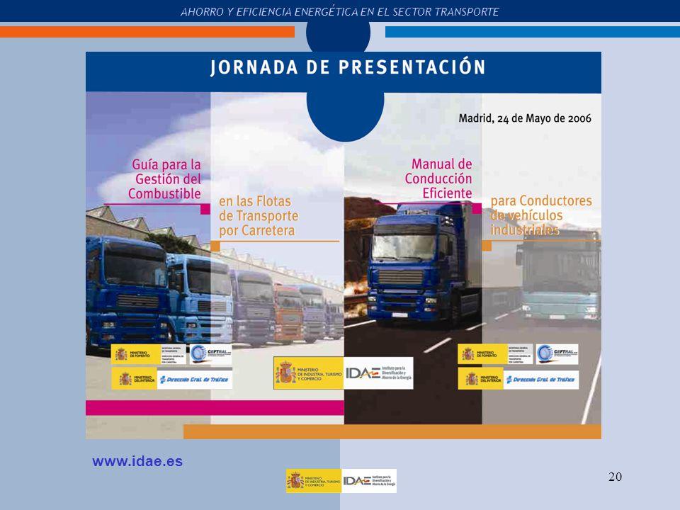  Acuerdo con la Dirección General de Tráfico (ECODRIVING):
