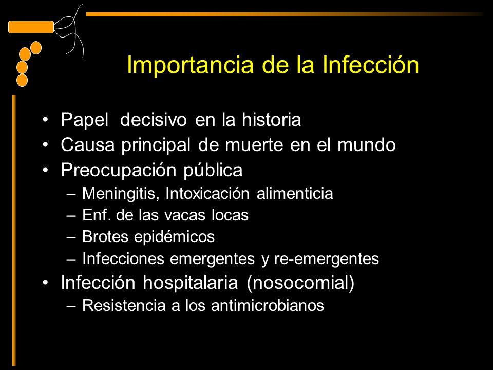 Importancia de la Infección