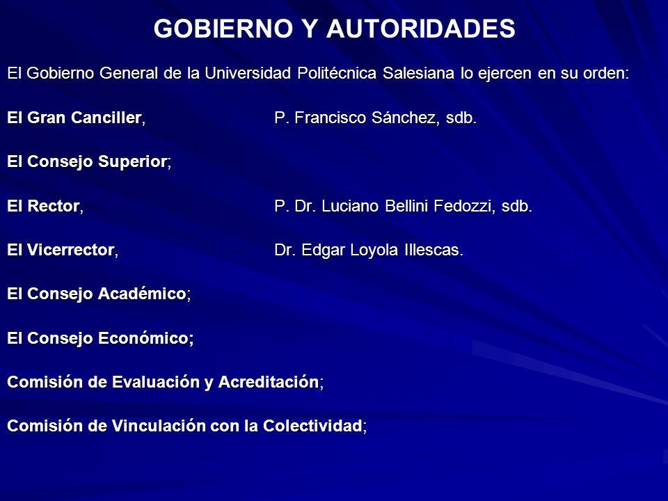 GOBIERNO Y AUTORIDADES