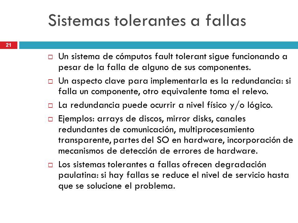 Sistemas tolerantes a fallas