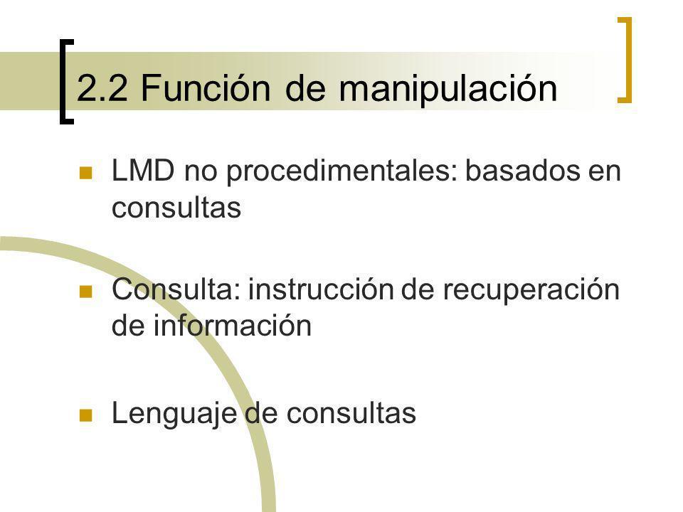 2.2 Función de manipulación