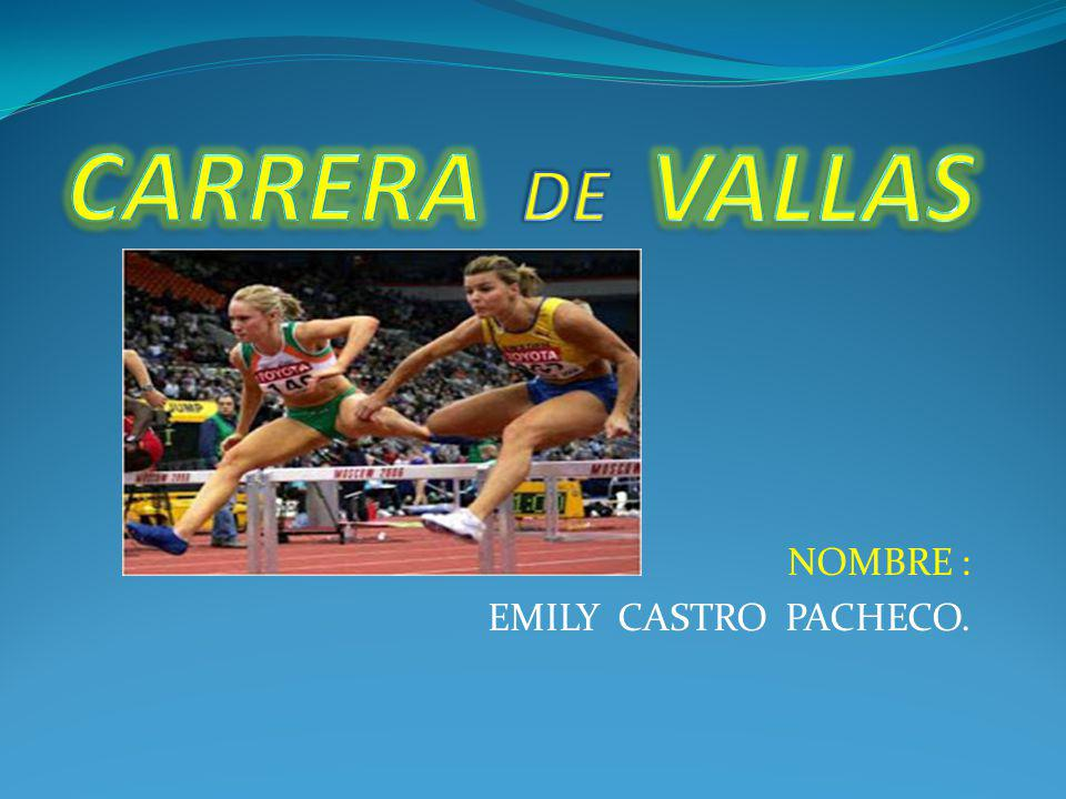 NOMBRE : EMILY CASTRO PACHECO.