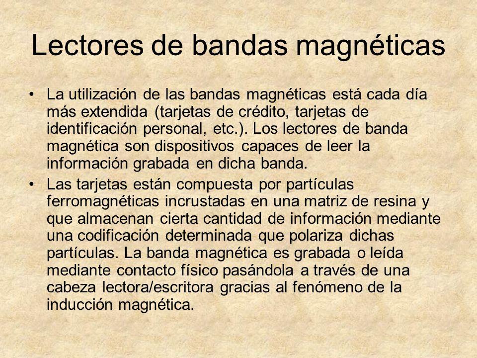 Lectores de bandas magnéticas