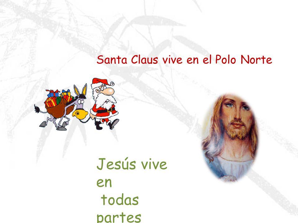 Santa Claus vive en el Polo Norte