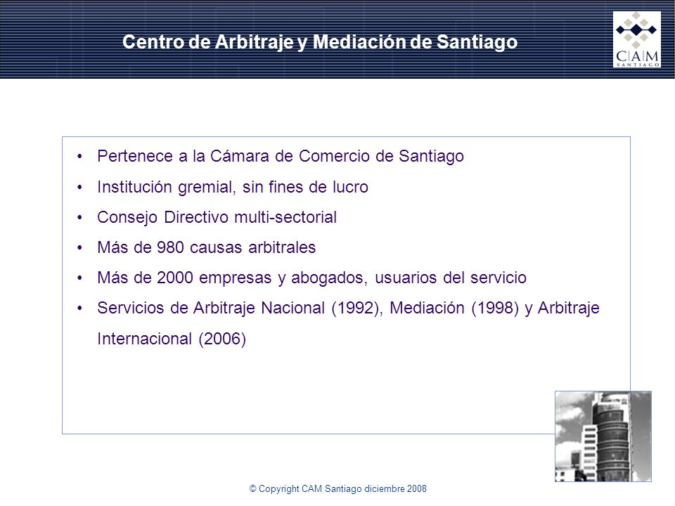 Centro de Arbitraje y Mediación de Santiago