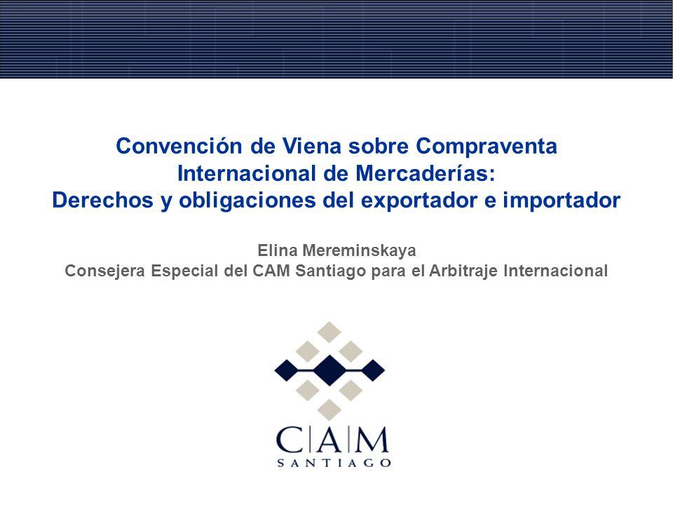 Convención de Viena sobre Compraventa Internacional de Mercaderías: