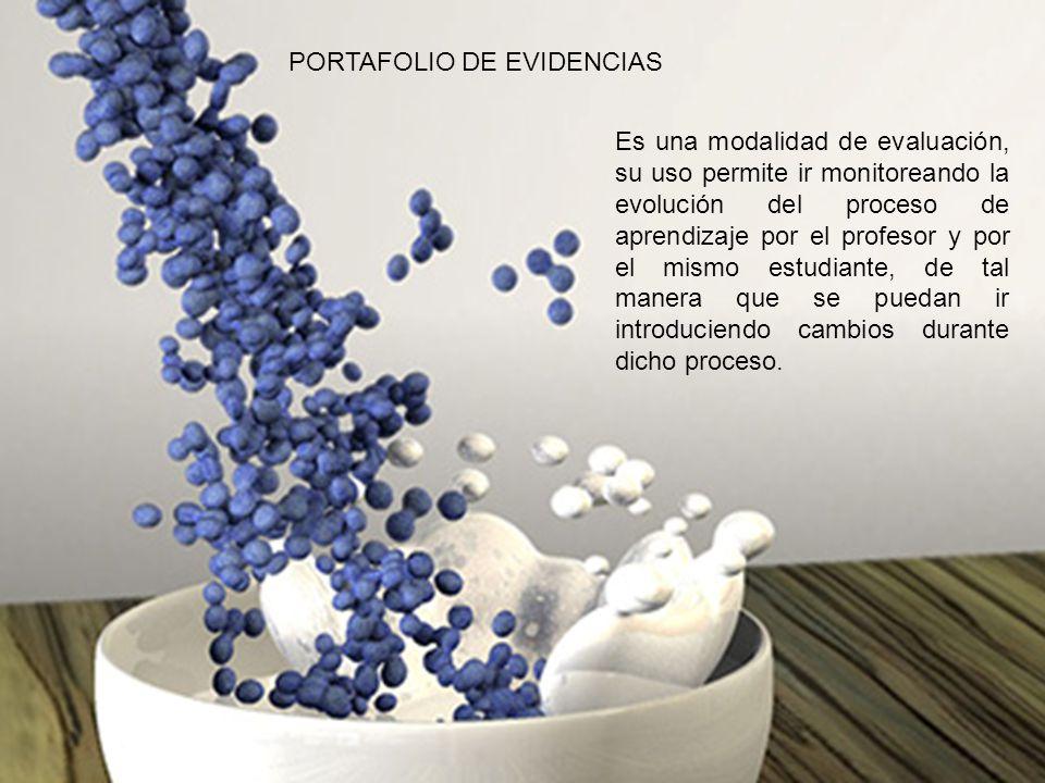 PORTAFOLIO DE EVIDENCIAS