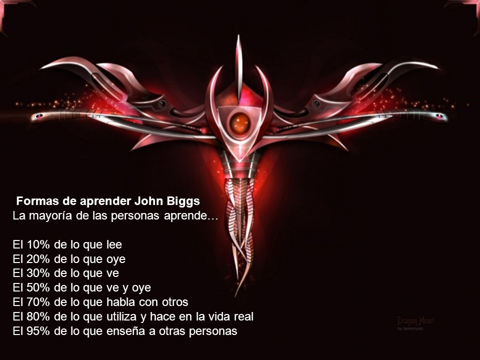 Formas de aprender John Biggs