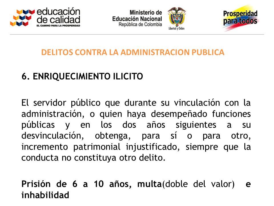 DELITOS CONTRA LA ADMINISTRACION PUBLICA