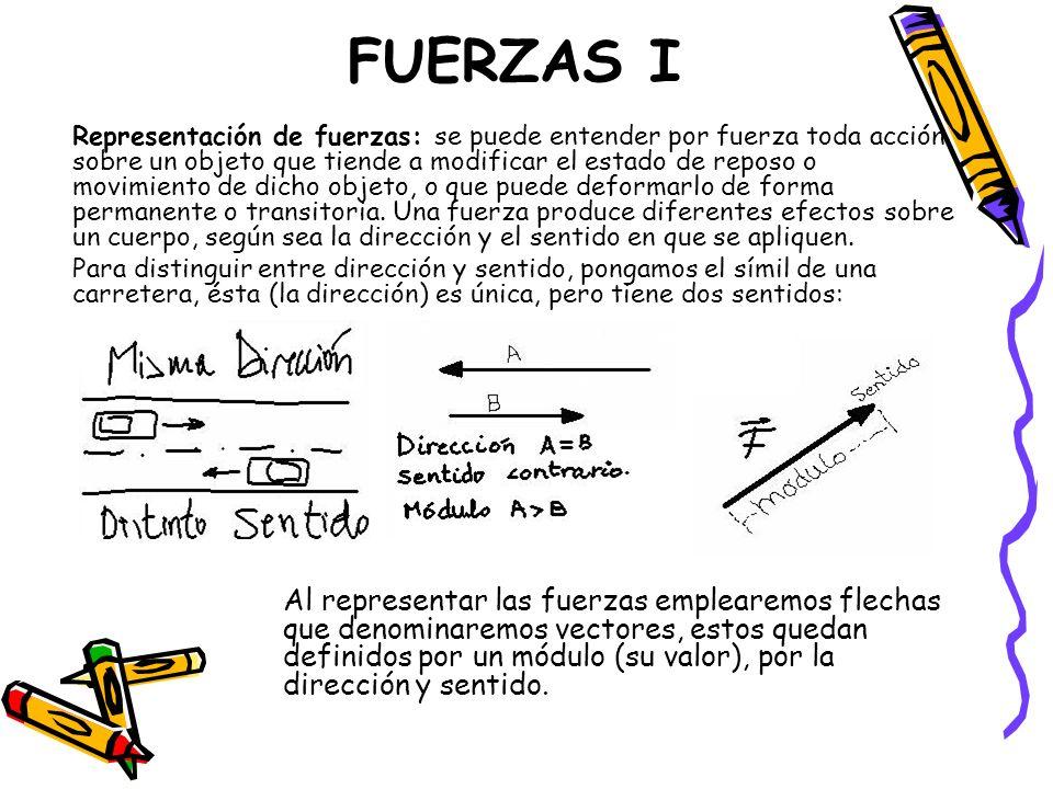 FUERZAS I