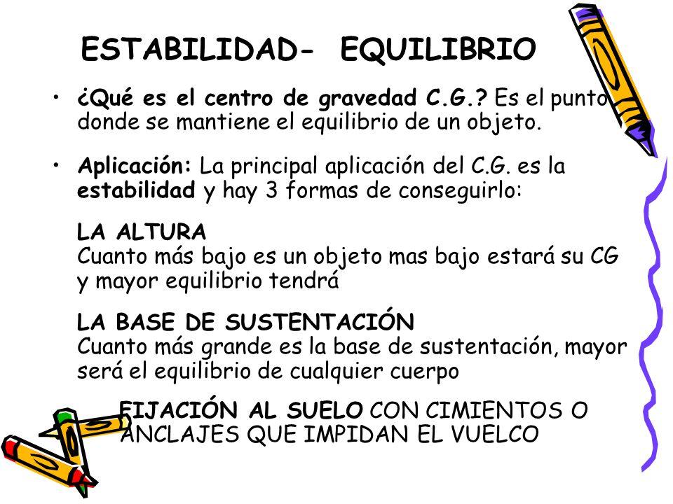 ESTABILIDAD- EQUILIBRIO