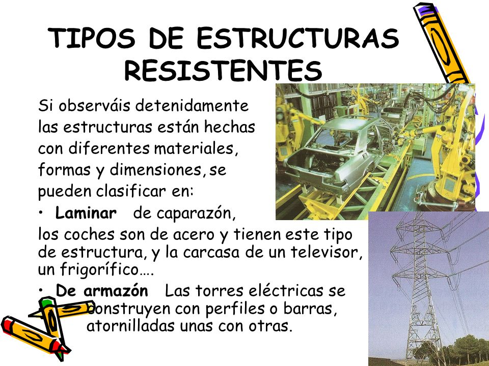 TIPOS DE ESTRUCTURAS RESISTENTES