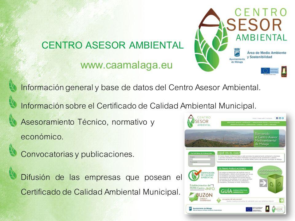 www.caamalaga.eu CENTRO ASESOR AMBIENTAL