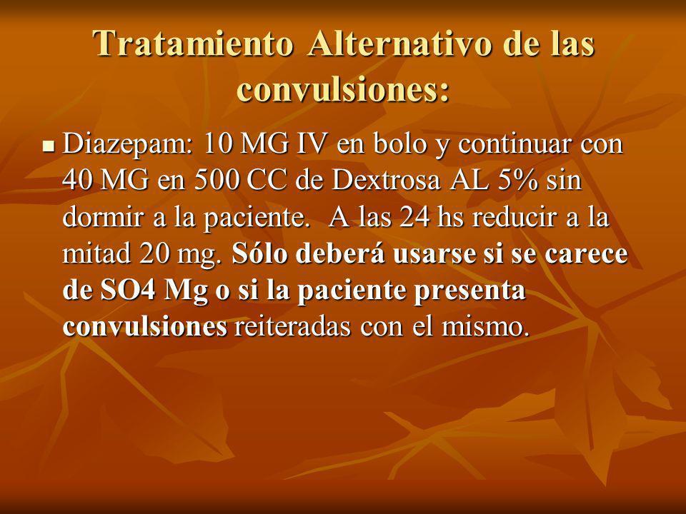 Tratamiento Alternativo de las convulsiones: