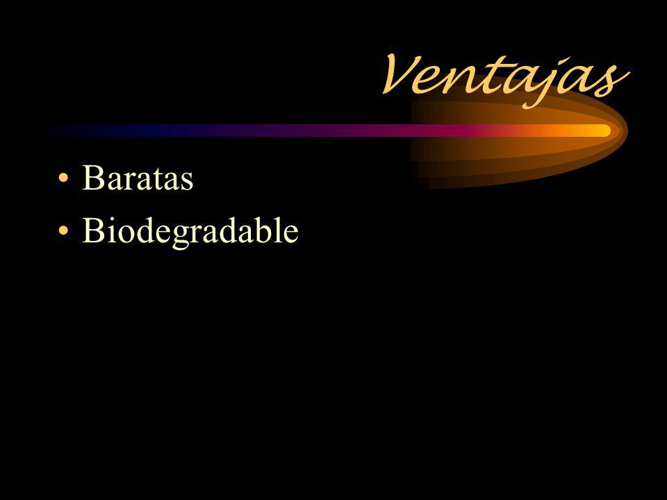 Ventajas Baratas Biodegradable