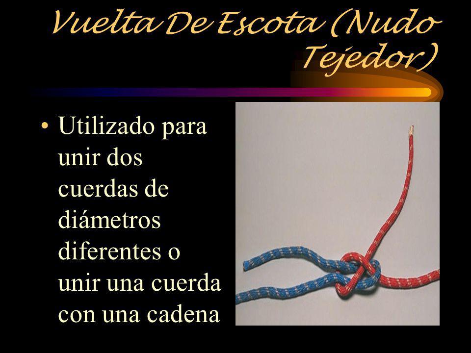Vuelta De Escota (Nudo Tejedor)