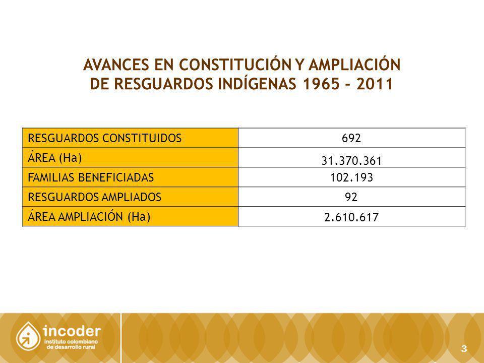 AVANCES EN CONSTITUCIÓN Y AMPLIACIÓN