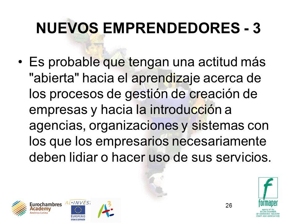 NUEVOS EMPRENDEDORES - 3