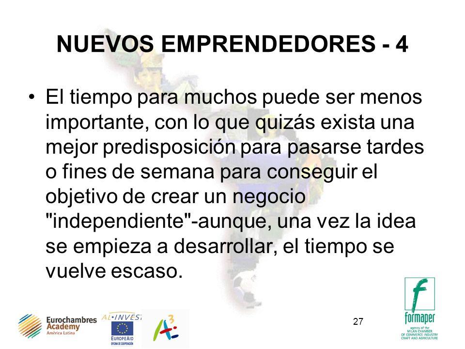 NUEVOS EMPRENDEDORES - 4
